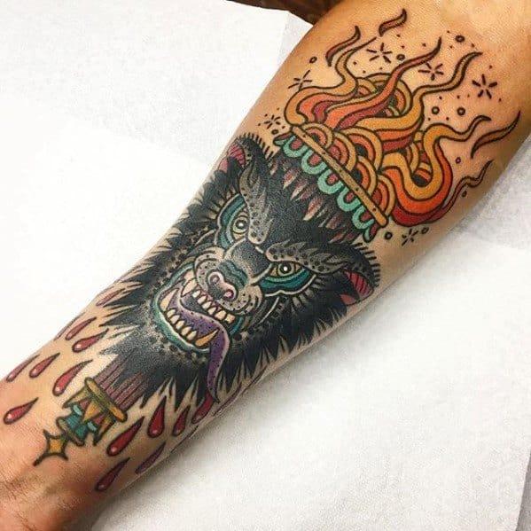 Torch Guys Tattoo Designs