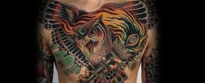 60 Torch Tattoos For Men – Illuminated Body Art Ideas