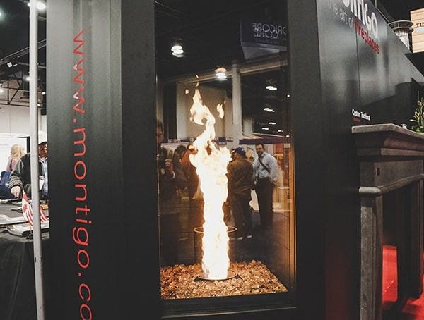 Tornado Gas Fireplace 2019 Nahb Show