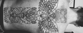 70 Totem Pole Tattoo Designs For Men – Carved Creation Ink
