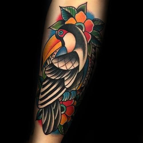 Toucan Male Tattoo Designs
