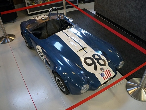 Toy Car Mini Shelby Cobra