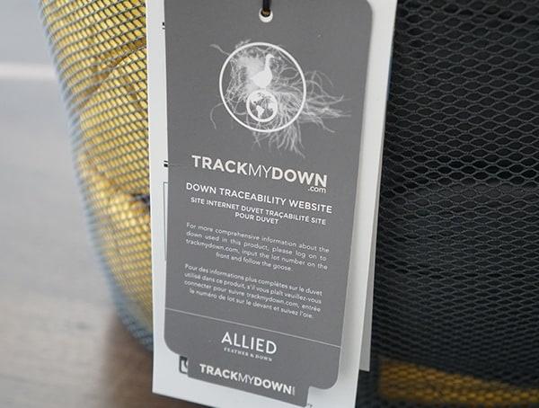 Track My Down Allied Sierra Designs Nitro 800 20 Degree Sleeping Bag Fill