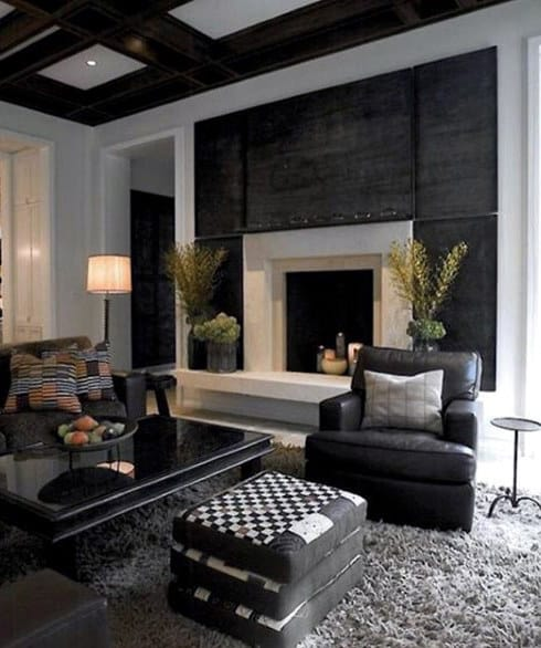 Traditional Bachelor Pad Living Room Ideas For Men