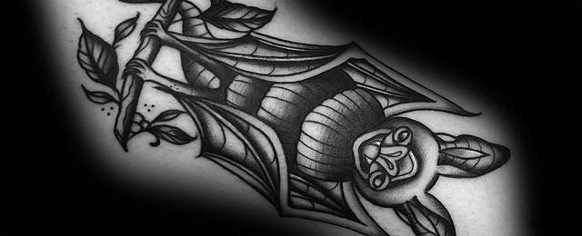 50 Traditional Bat Tattoo Designs For Men – Old School Ideas