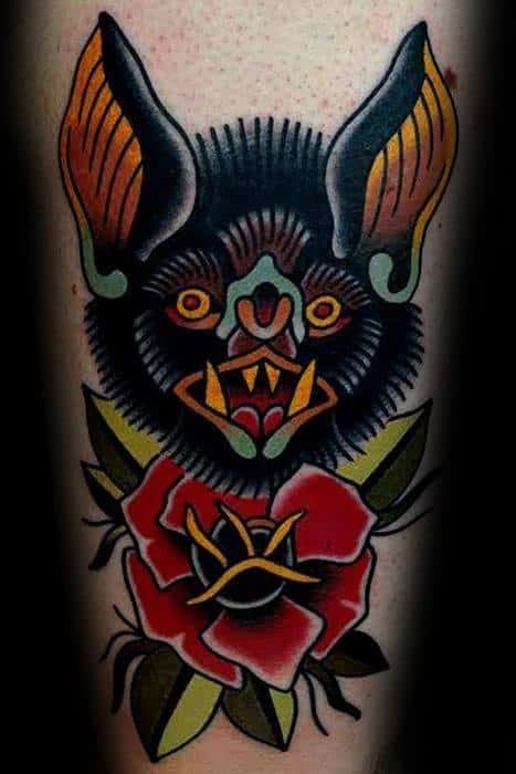 traditional-bat-tattoos-for-gentlemen