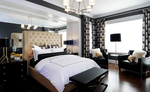 Traditional Chandelier Bedroom Lighting Interior Ideas
