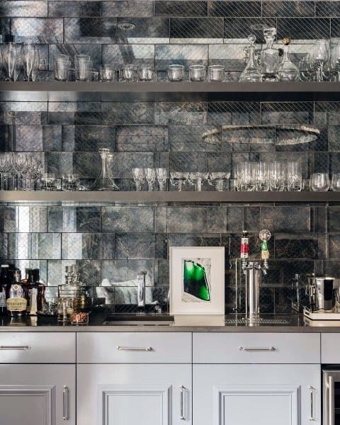 Traditional Contemporary Wet Bar Ideas