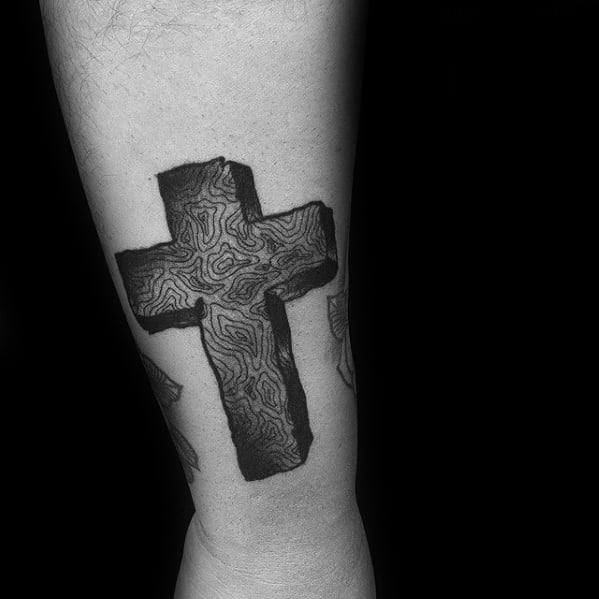 Traditional Cross Tattoo Designs For Guys