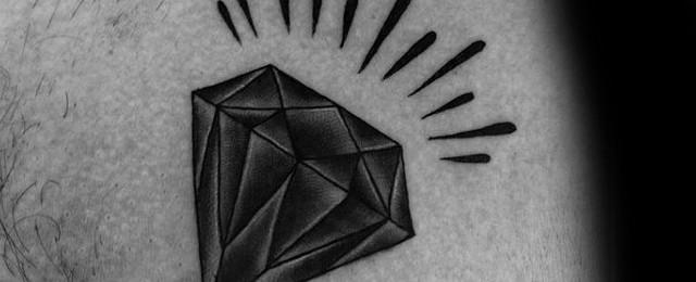 Traditional Diamond Tattoo Designs For Men