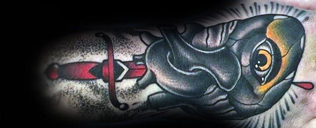 50 Traditional Eye Tattoo Designs For Men – Old School Ideas