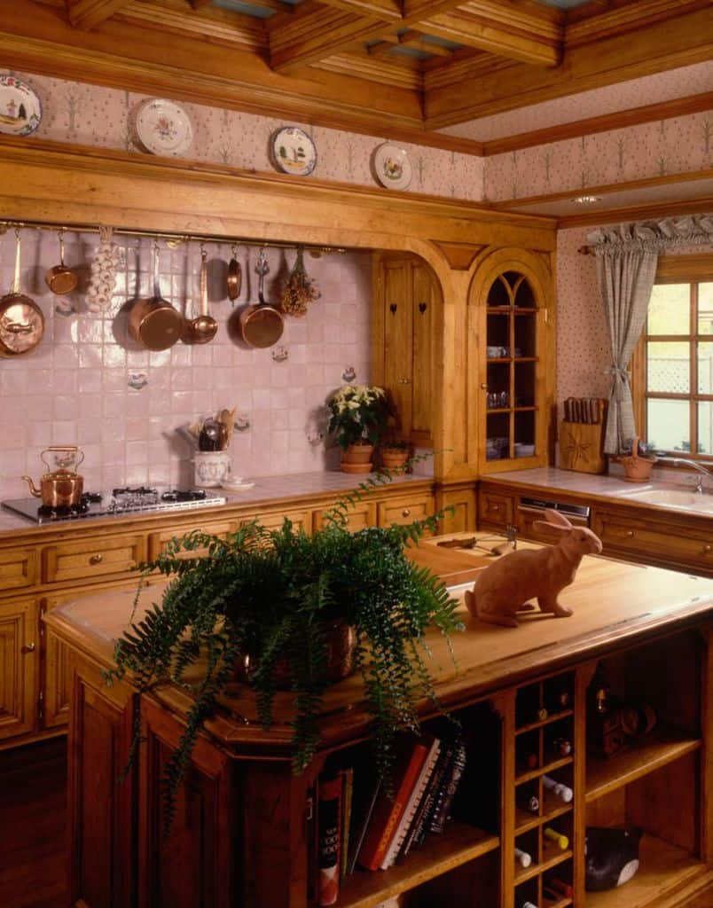 Traditional French Country Kitchen 1