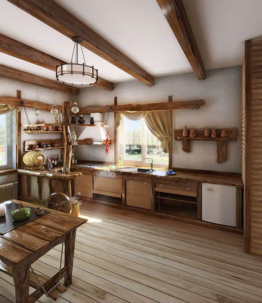 Traditional French Country Kitchen 2