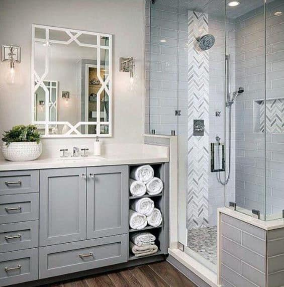 Traditional Grey Bathroom Ideas