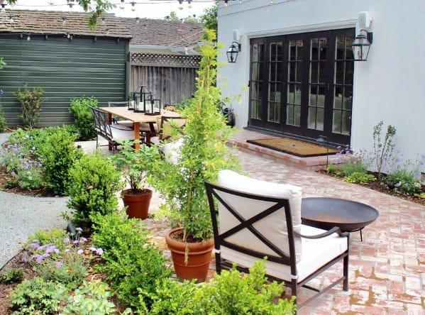 Traditional Home Design Ideas Brick Patio