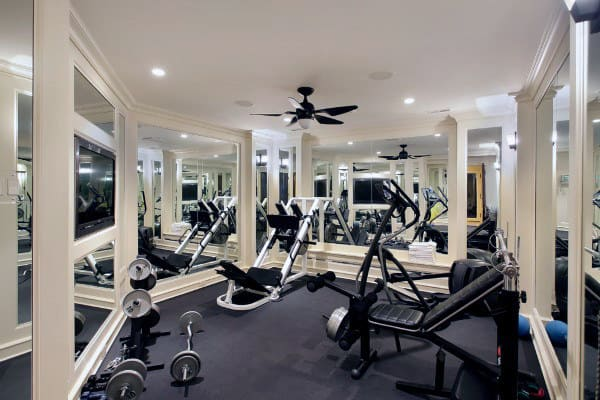 Traditional Home Gym Design Inspiration
