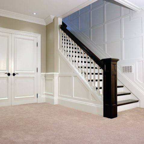 Traditional Home Ideas Basement Stairs