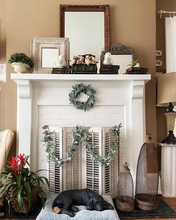 Traditional Home Mantel Decor Ideas Gigishomeandgarden