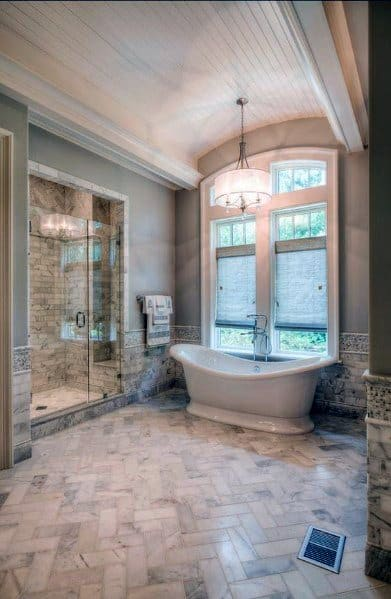 Traditional Home Master Bathroom Ideas