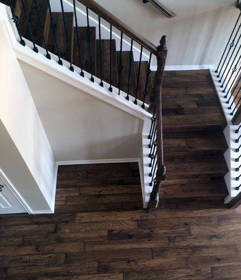 Traditional Impressive Wood Stairs Ideas