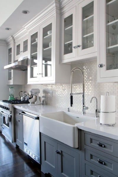 Top 60 Best Kitchen Backsplash Design Ideas - Culinary Space Interiors