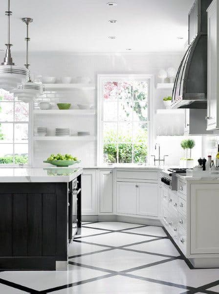Traditional Kitchens Floor Ideas