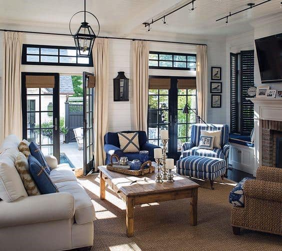 Traditional Living Rooms Track Lighting Ideas