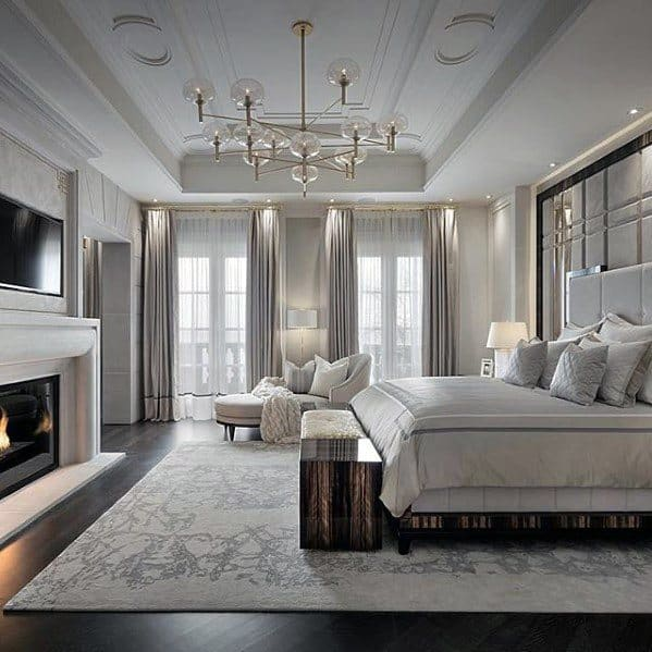 Top 60 Best Master Bedroom Ideas - Luxury Home Interior ... on Luxury Master Bedroom  id=42233