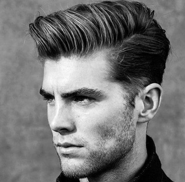 Elegant Traditional Medium Length Hairstyles For Men With Straight Hair