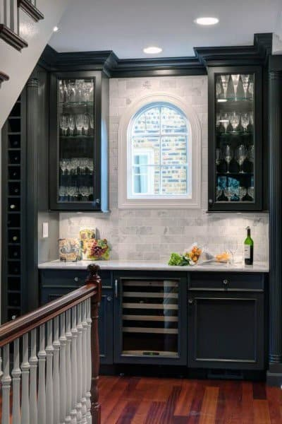 Traditional Mini Bar Ideas