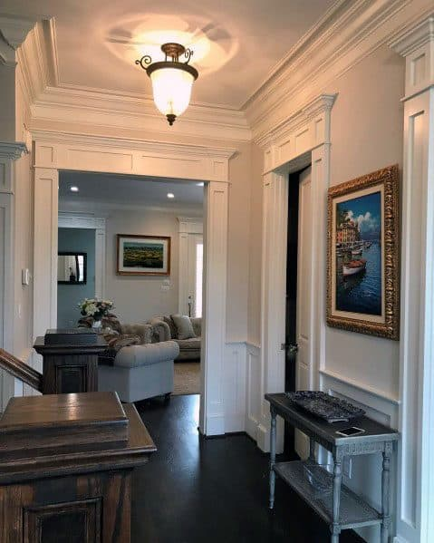 Traditional Molding Luxury Door Trim Ideas