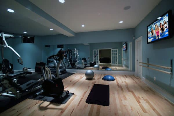 Traditional Personal Home Gyms