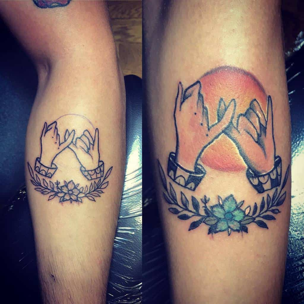 Traditional Pinky Promise Tattoos Nessaa Gee
