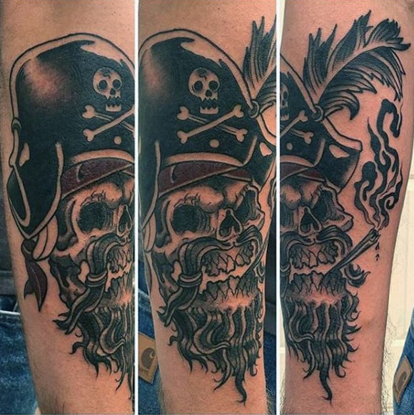 Traditional Pirate Tattoos For Guys