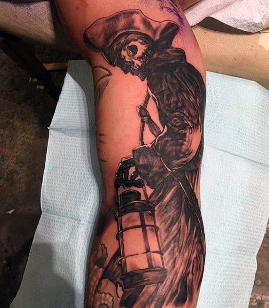 Traditional Pirate Tattoos For Men