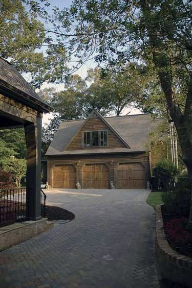 Traditional Rustic Detached Garage Ideas