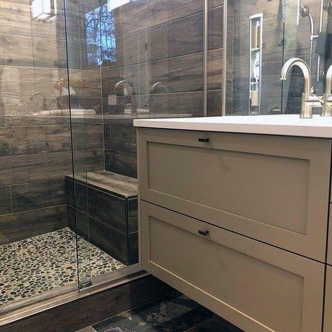 Traditional Vintage Rustic Bathroom Ideas