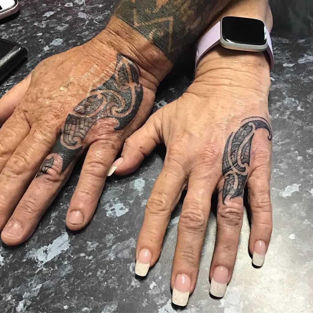 Traditional Wedding Ring Tattoo Zillabitattoo