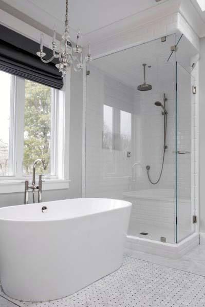 Traditional White Bathroom Ideas
