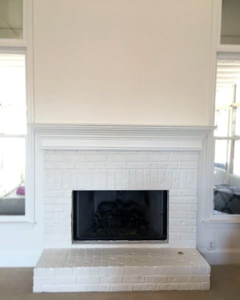Traditional White Painted Fireplace Ideas Inspiration