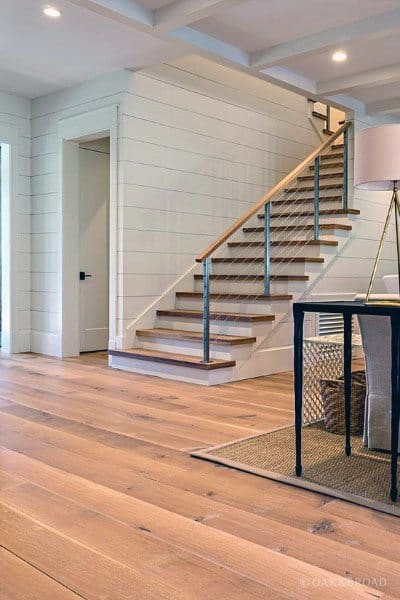 Traditional Wire Railing Ideas For Home Staircase