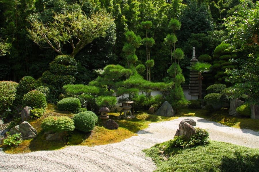 traditional zen garden ideas