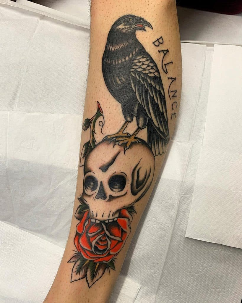 nextluxury forearm 6 red rose tattoos