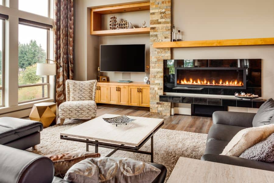 Transitional Family Room Ideas 12