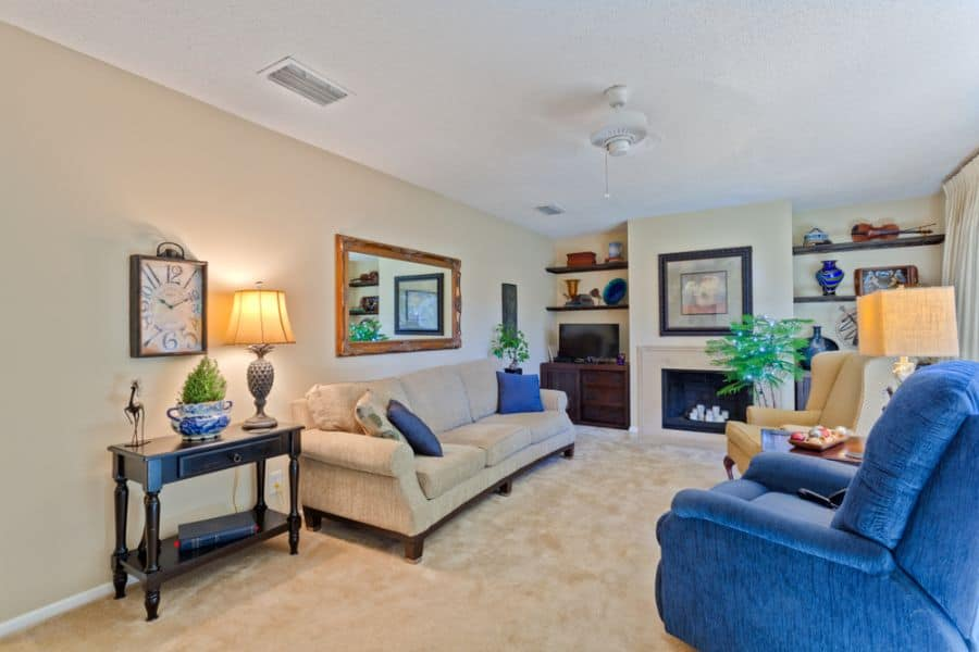 Transitional Family Room Ideas 14