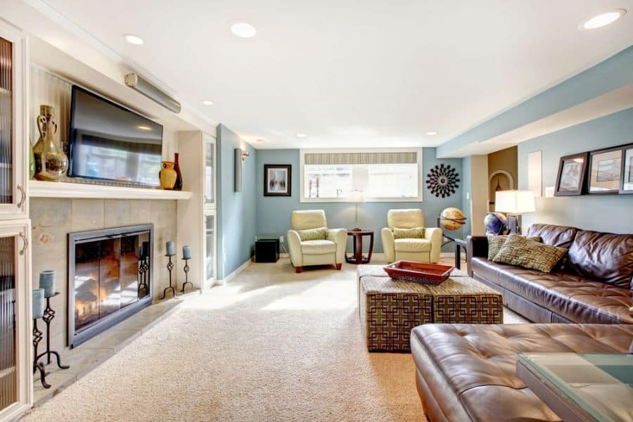Transitional Family Room Ideas 15