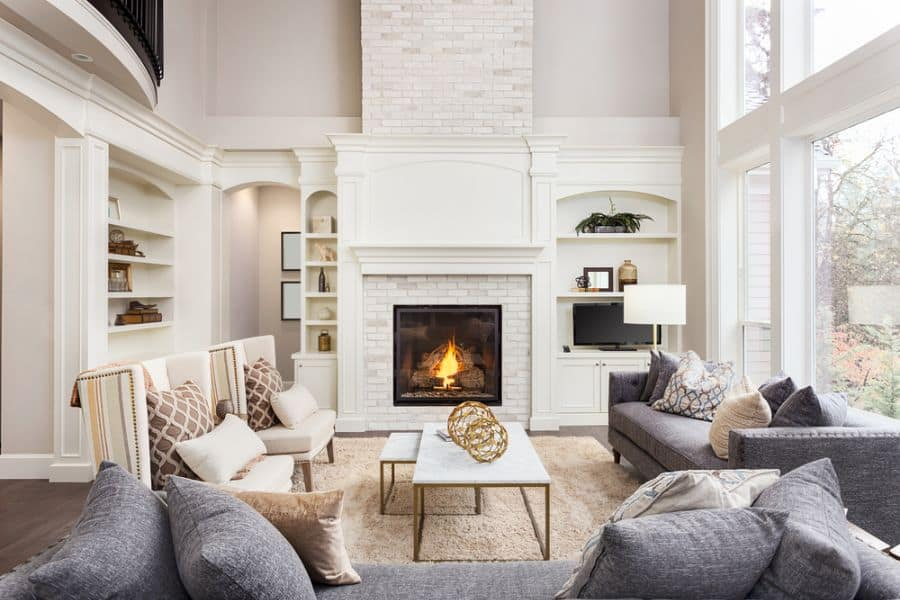 Transitional Family Room Ideas 3