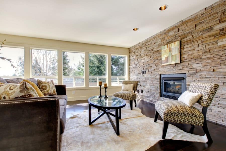 Transitional Family Room Ideas 4