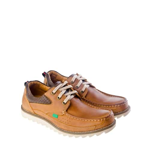 Trask Custer Leather Mens Boat Shoes