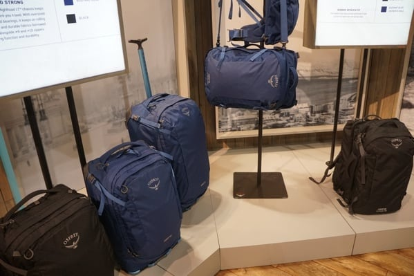 Travel Osprey Bags And Suitcase Outdoor Retailer 2018